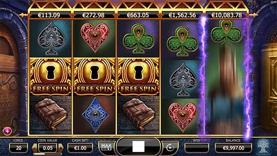 Jackpot Free Spins