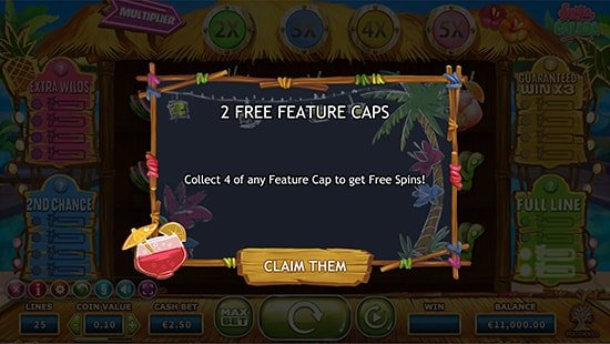 4 collectable features