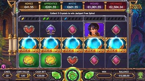 Jackpot Freespins