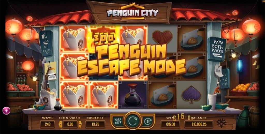 The Penguin Escape Mode