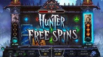 Hunter Free Spins