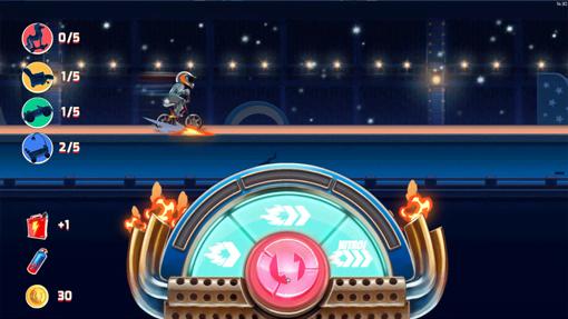 Nitro Jump Bonus Game