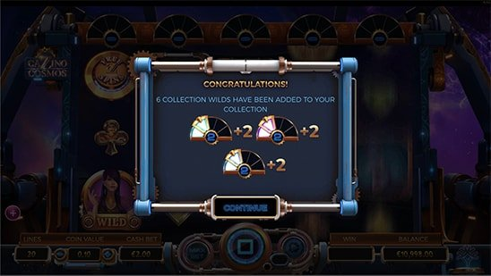 Collection Free Spins