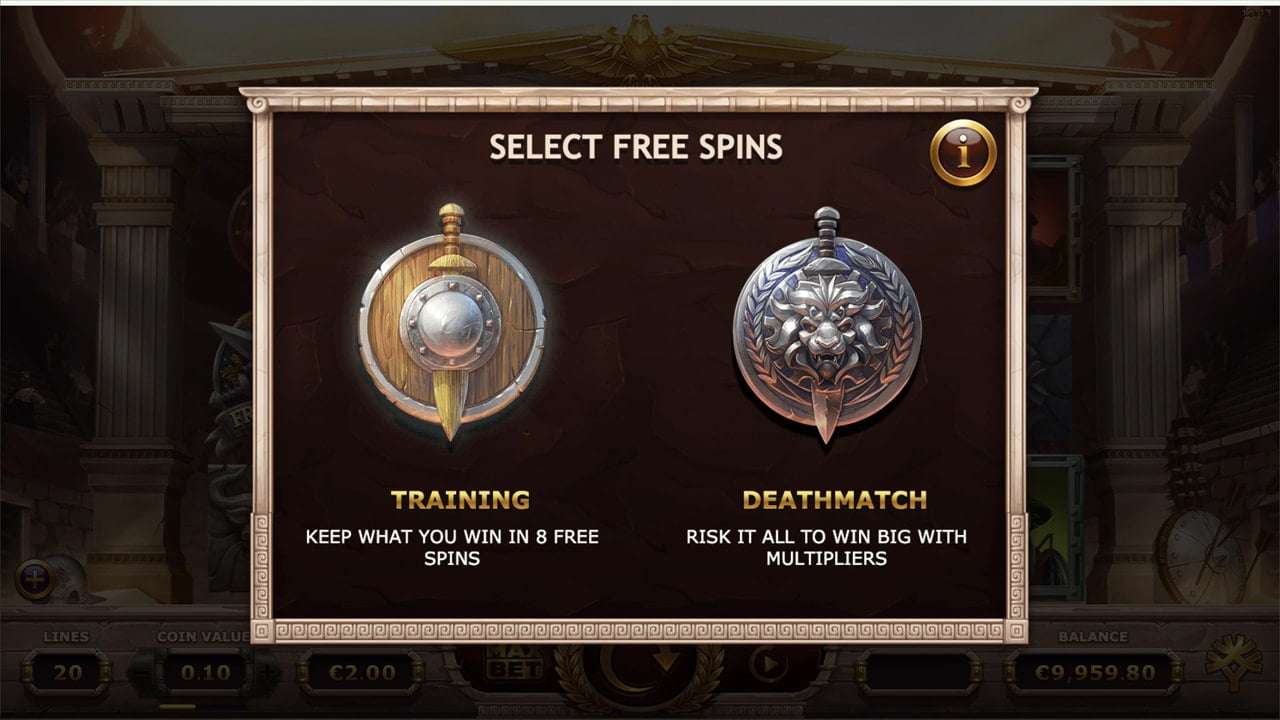 Training Free Spin Mode