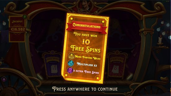 FREE SPIN FEATURES