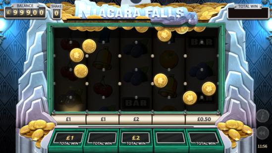 Cash Fall Bonus