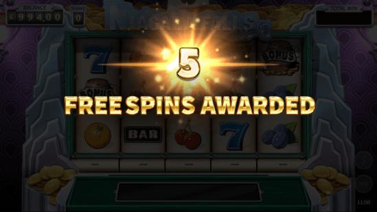 Niagara Falls Free Spins Bonus