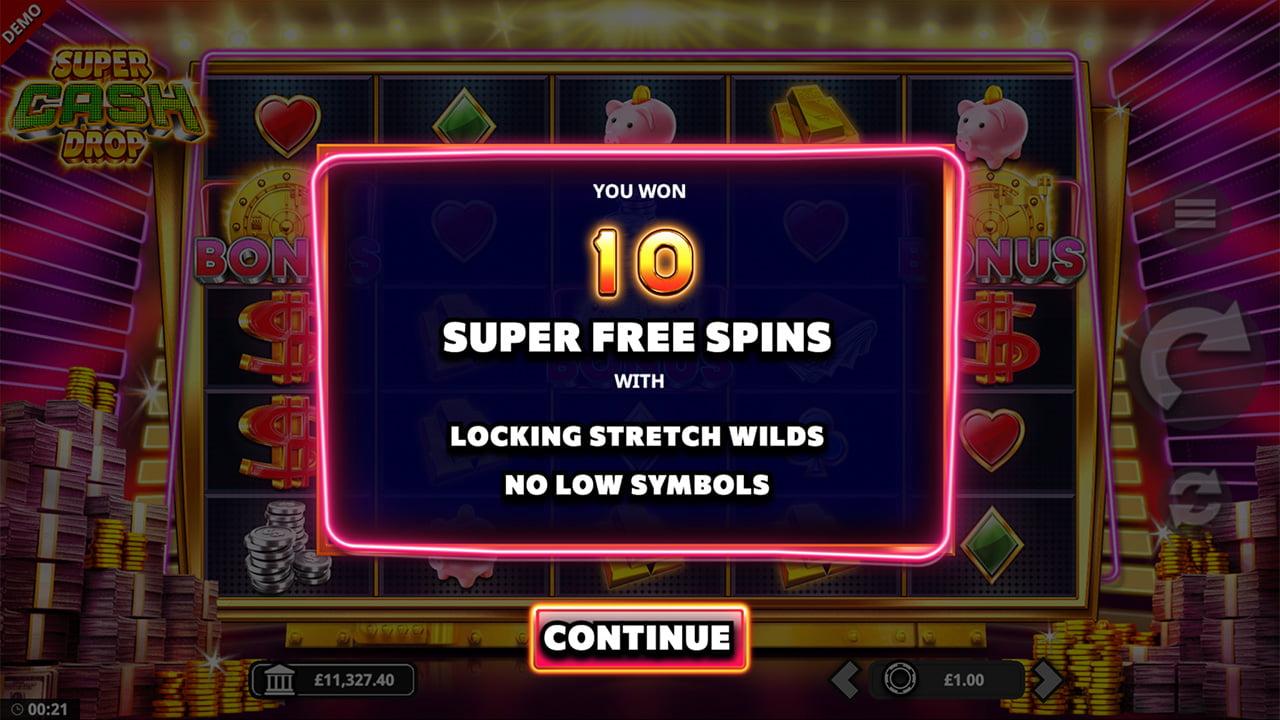 SUPER FREE SPINS