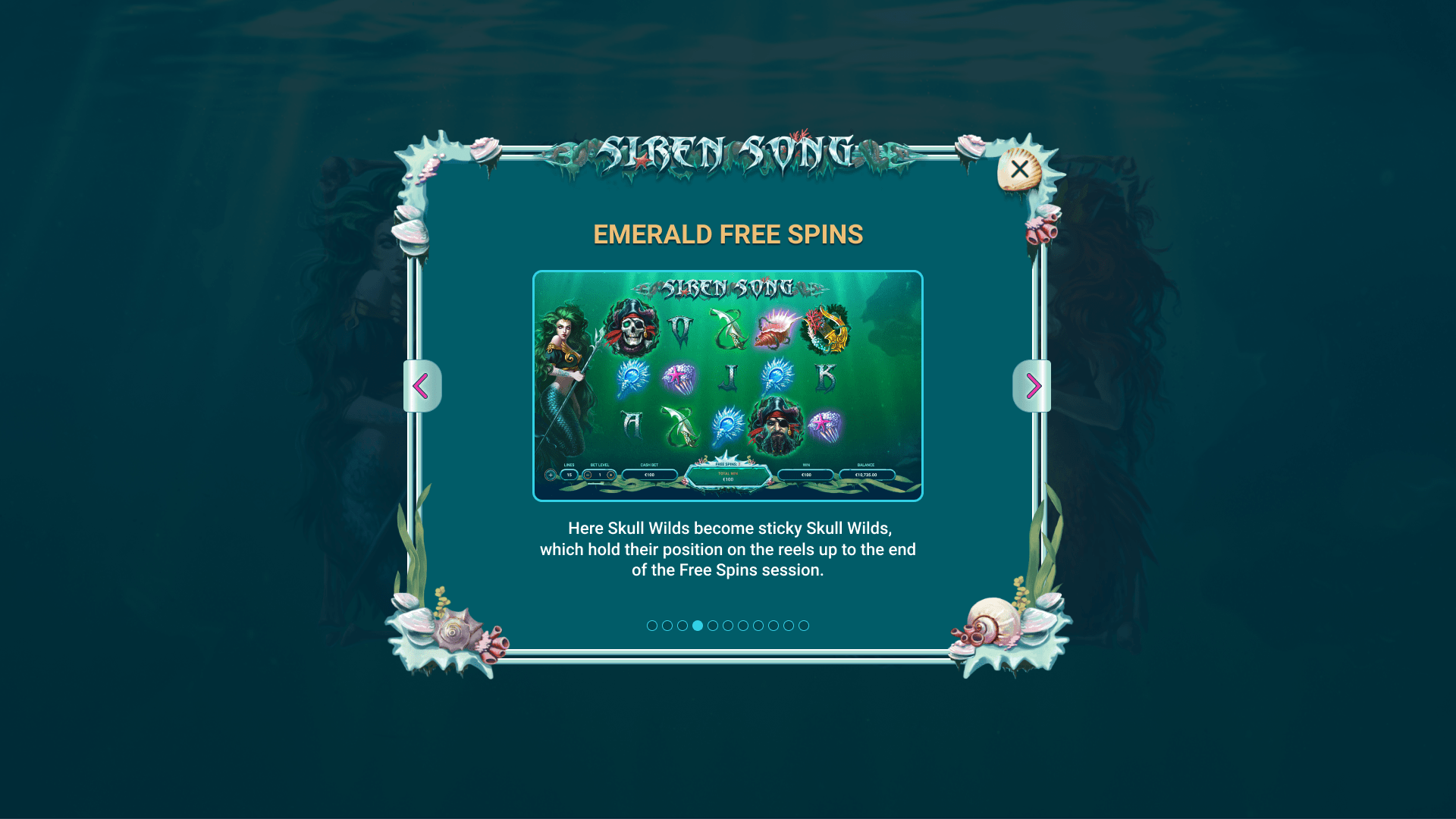EMERALD FREE SPINS