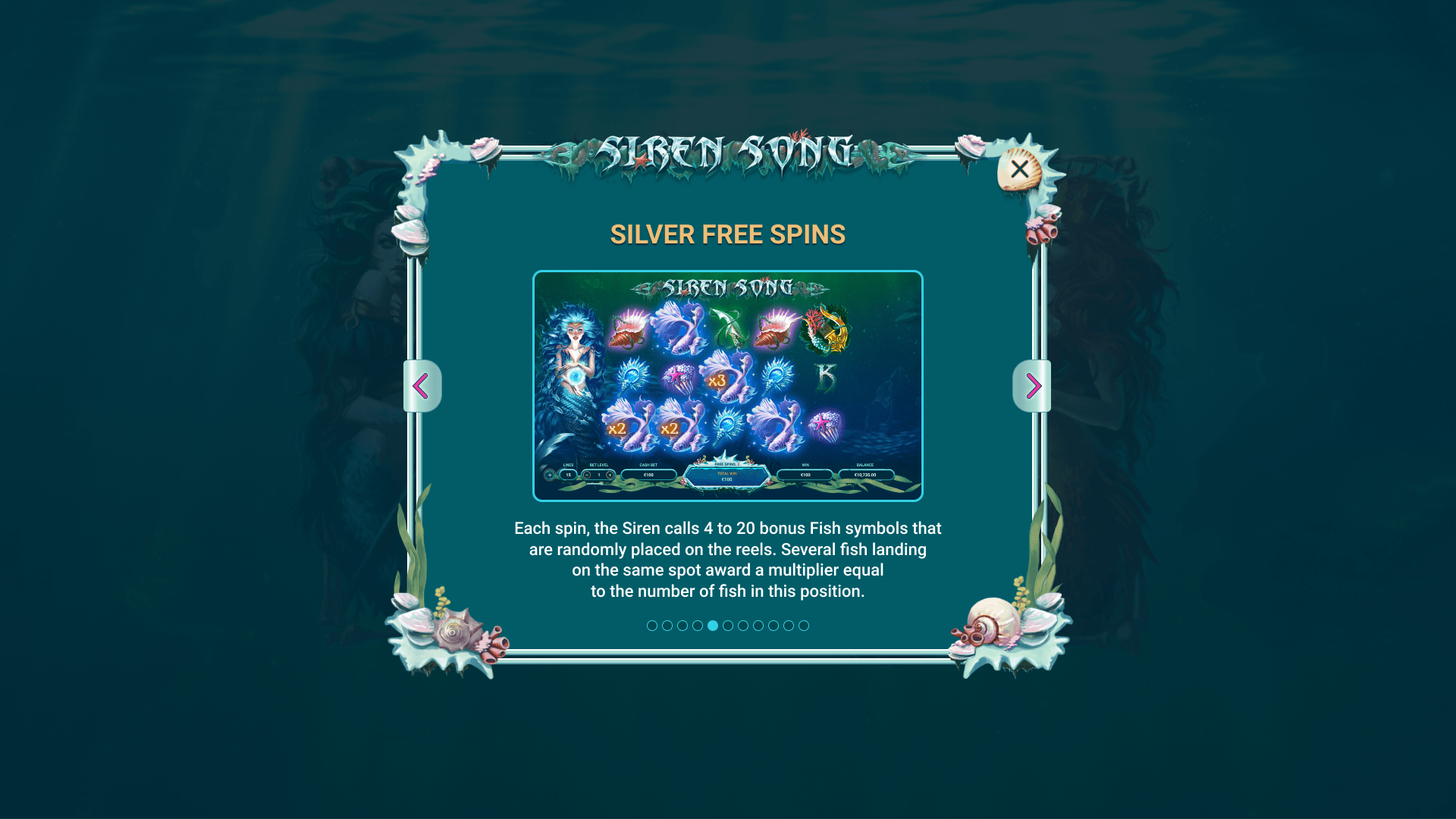 SILVER FREE SPINS